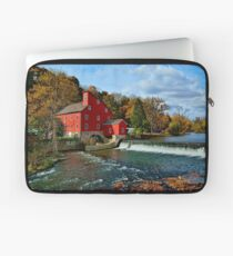 The Historic Red Mill of Clinton NJ Laptop Sleeve