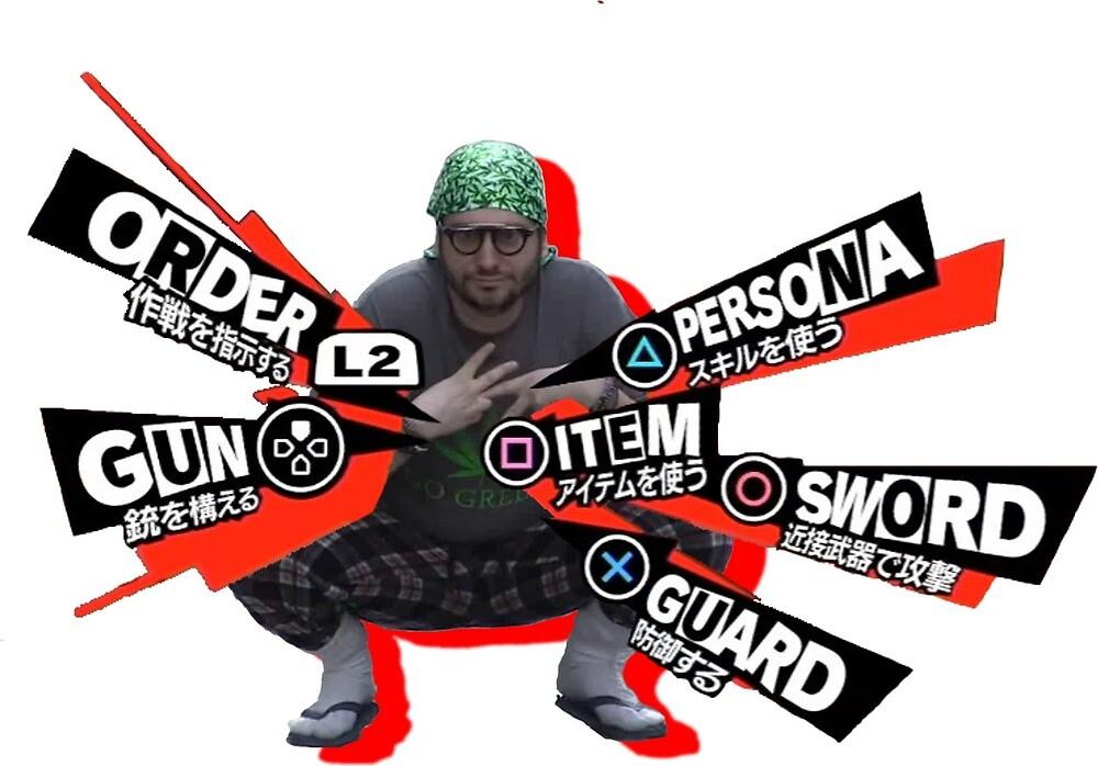 Persona Parody by iBuyNeko