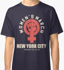 wOMEN'S MARCH 20 JANUARY NEW YORK CITY Classic T-Shirt