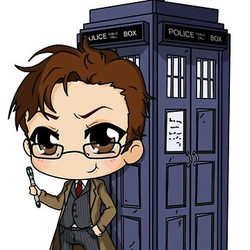 Doctor Who Phone Case by Erikson120