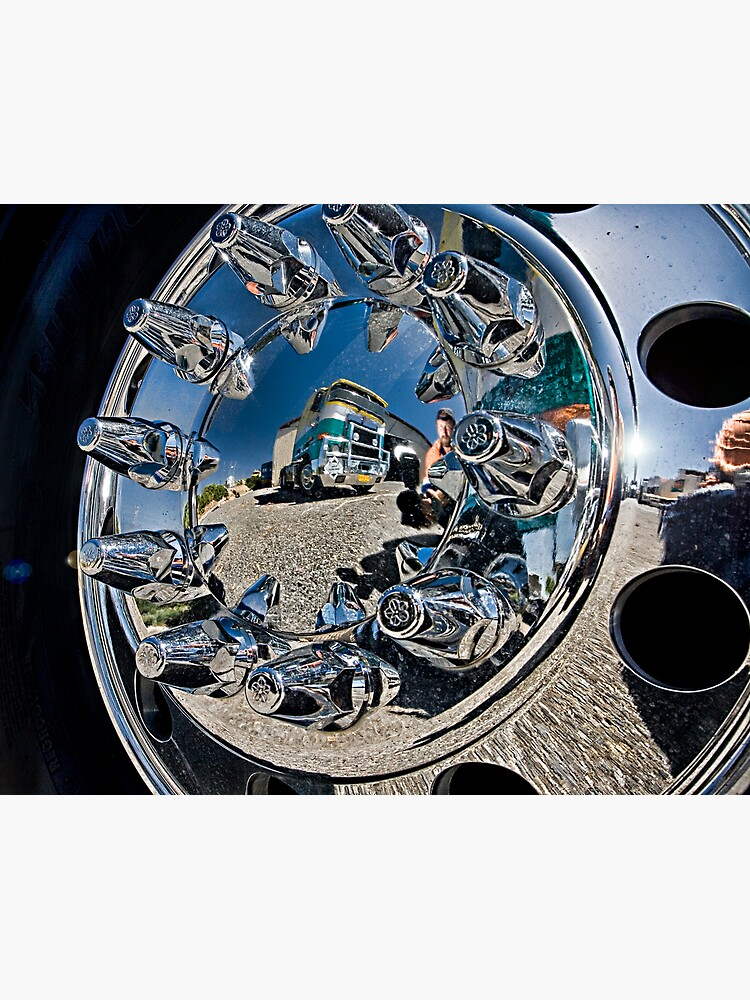 The Wheel Me and a Truck. by Mick36
