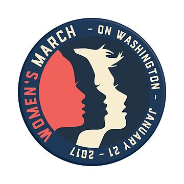 Womens March head by mereme