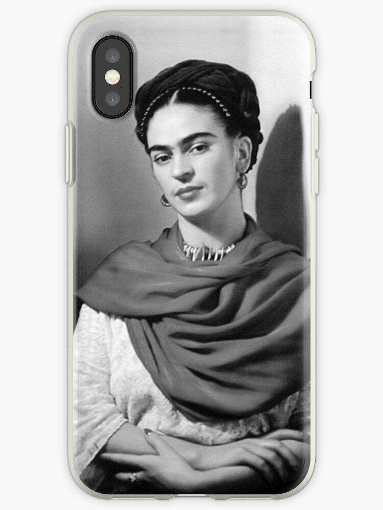 Black and White Frida Kahlo by LonnieRoberts