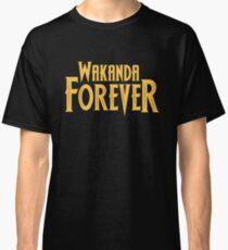 Wakanda Forever Yellow Classic T-Shirt
