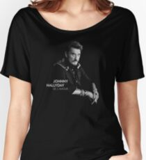 johnny hallyday Women's Relaxed Fit T-Shirt