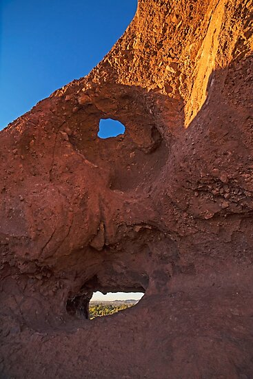 Papago Park Hole-In-The_Rock Phoenix Arizona AZ by WayneOxfordPh