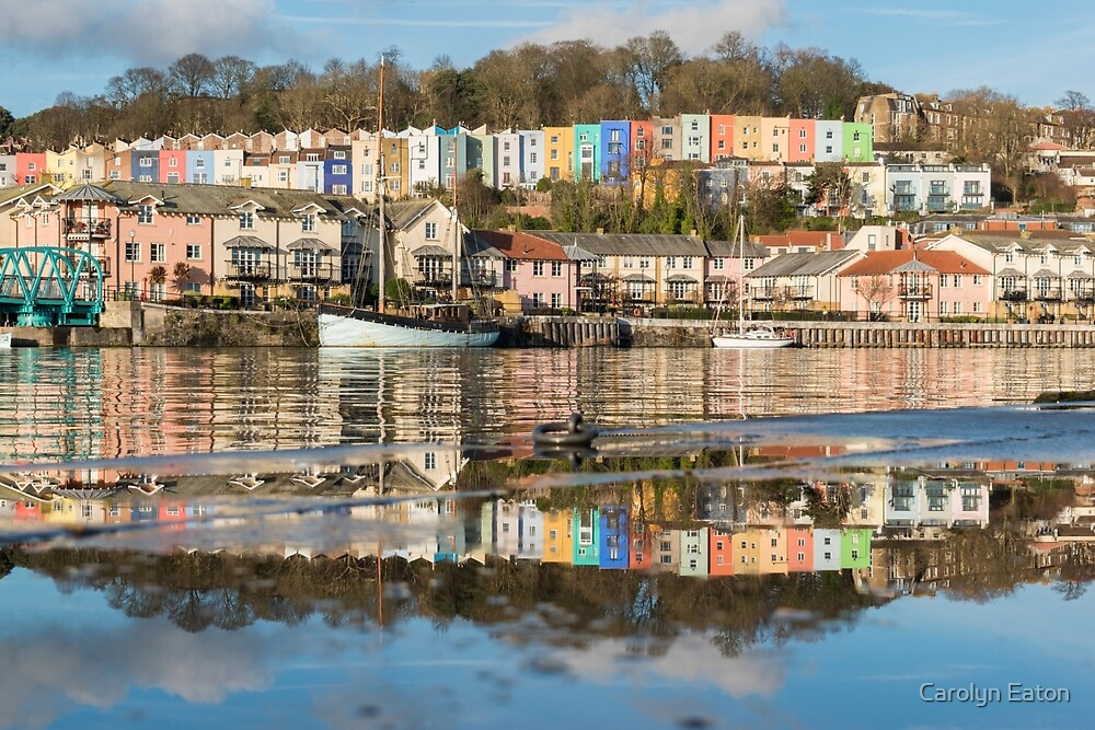 Bristol in a puddle! by Carolyn Eaton