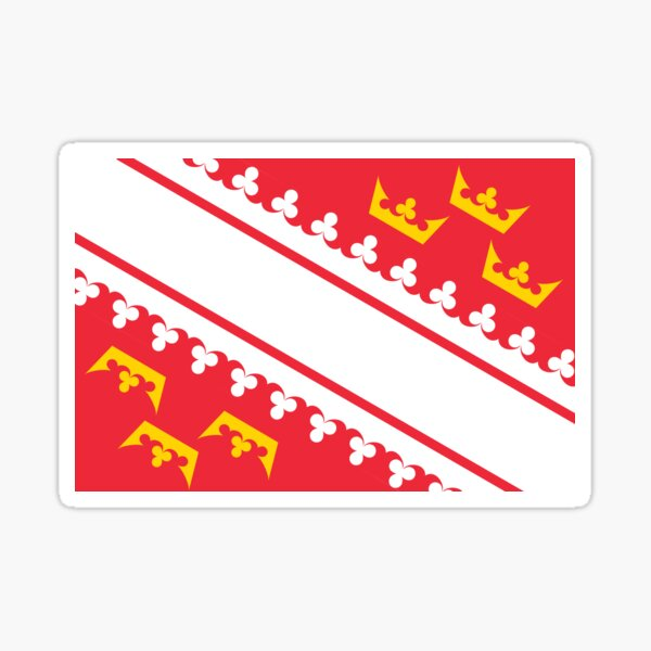 Drapeau alsacien Sticker