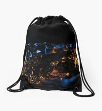 Ambient Lights and Reflections Drawstring Bag