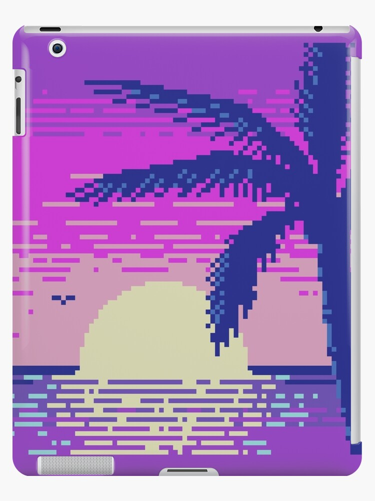 Pixel Sunset by Kevin Houlihan