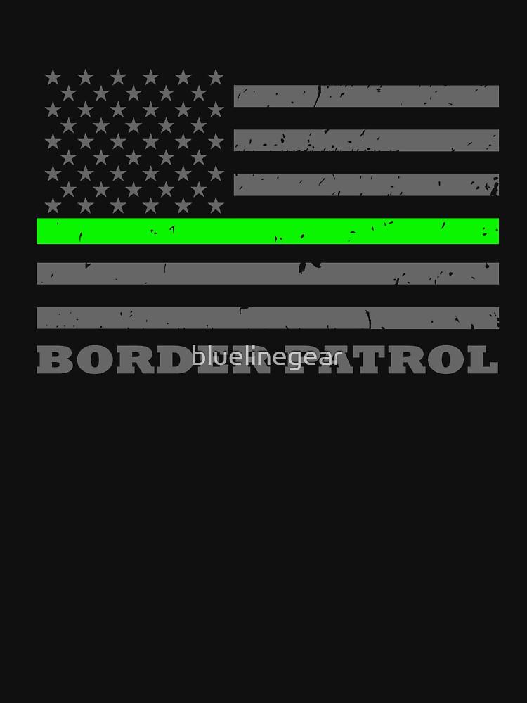 BORDER PATROL THIN GREEN LINE FLAG by bluelinegear