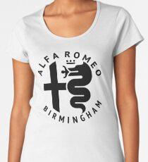 Alfa Romeo of Birmingham Crest Women's Premium T-Shirt