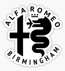 Alfa Romeo of Birmingham Crest Sticker