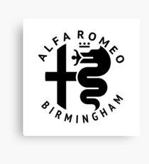 Alfa Romeo of Birmingham Crest Canvas Print