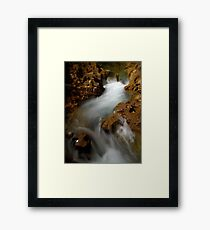 The cave of Planches Framed Print