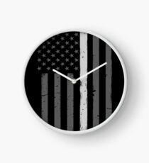Reloj BANDERA DEL OFICIAL DE LAS CORRECCIONES DE LA LÍNEA DE SILENCIO FINO