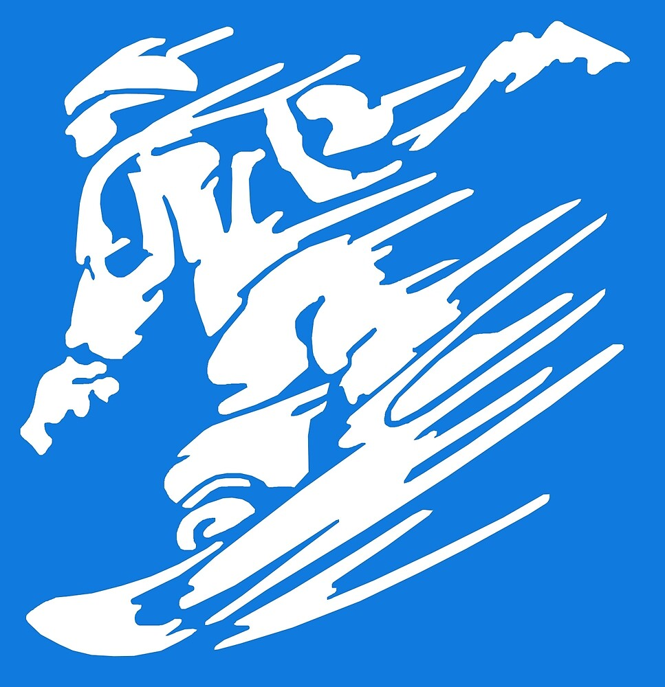 Snowboarding by ExpApparel