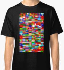 FLAGGEN DER WELT Classic T-Shirt