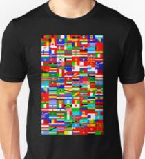 FLAGS OF THE WORLD Slim Fit T-Shirt