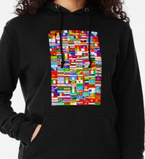 FLAGS OF THE WORLD Lightweight Hoodie