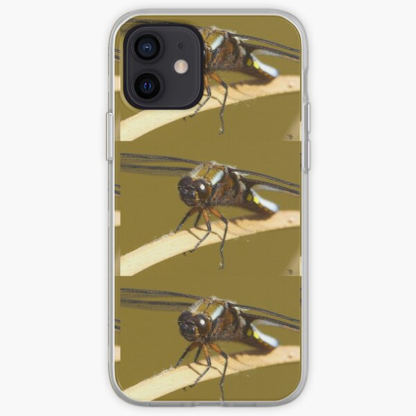broad bodied chaser dragonfly  iPhone Soft Case