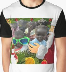 AFRICAN CHRISTMAS CARD 2 Graphic T-Shirt