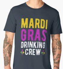 Mardi Gras Drinking Crew Men's Premium T-Shirt