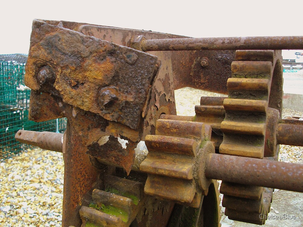A Boatmans Winch (slightly weathered) by ChelseaBlue