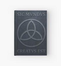 SIC MUNDUS CREATUS EST Hardcover Journal