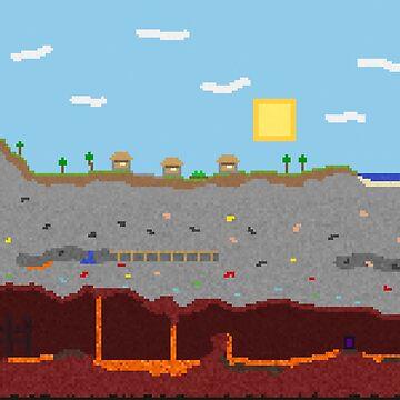 Minecraft World by momboy
