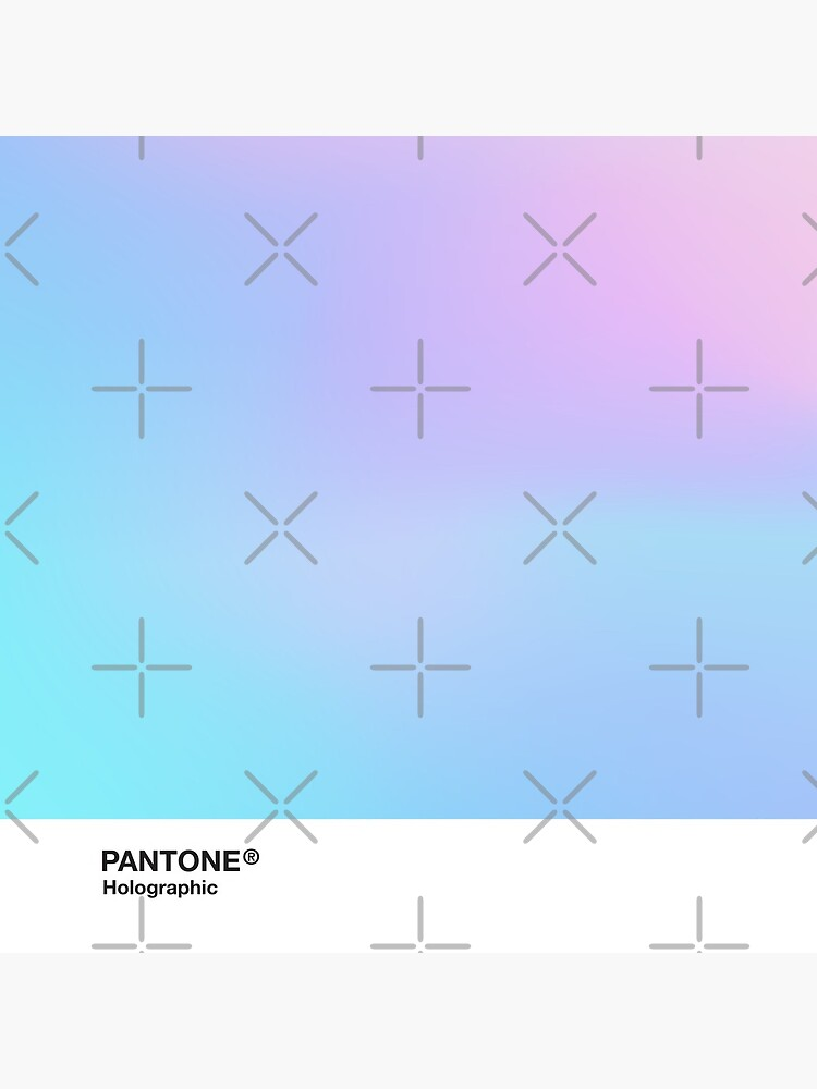 H.I.P.A.B - Holographic Iridescent Pantone Aesthetic Background 3 by heathaze