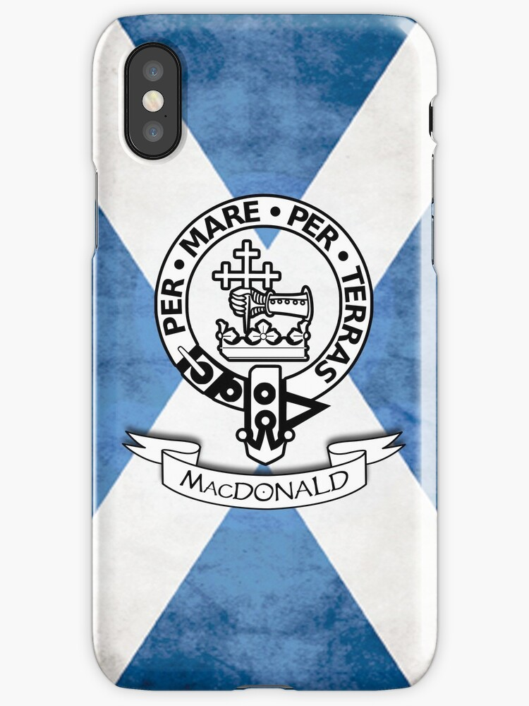 MacDonald Family Crest - Scottish Clan by njmclean