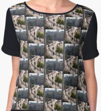 Jerusalem rampart view, no. 1 Chiffon Top