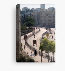 Jerusalem rampart view, no. 1 Metal Print