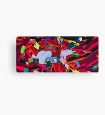 Kaws Art Canvas Print