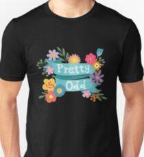 Pretty Odd Floral Banner Unisex T-Shirt