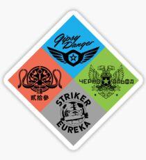Pacific Rim Jaeger Sticker