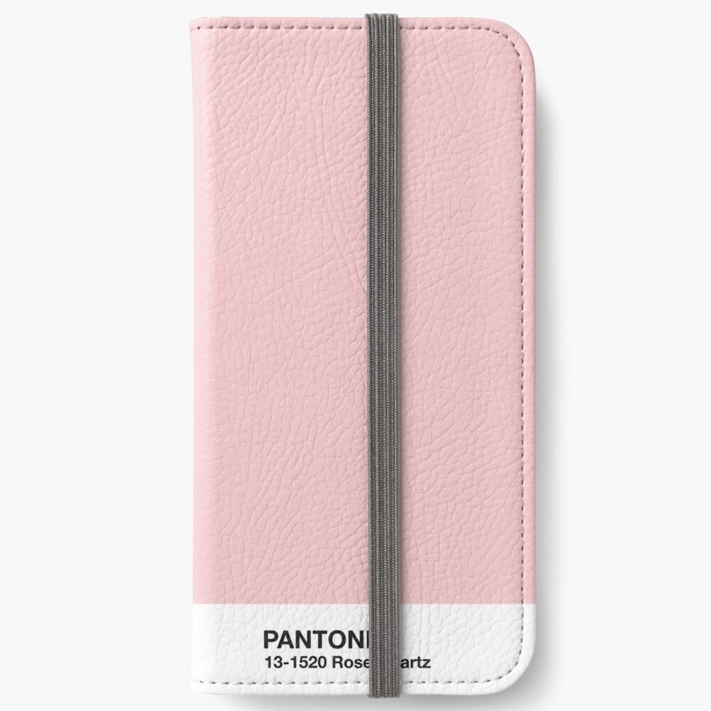 Serie Pantone y Tumblr Vibes - Rose Quartz AKA Millennial Pink Fundas tarjetero para iPhone