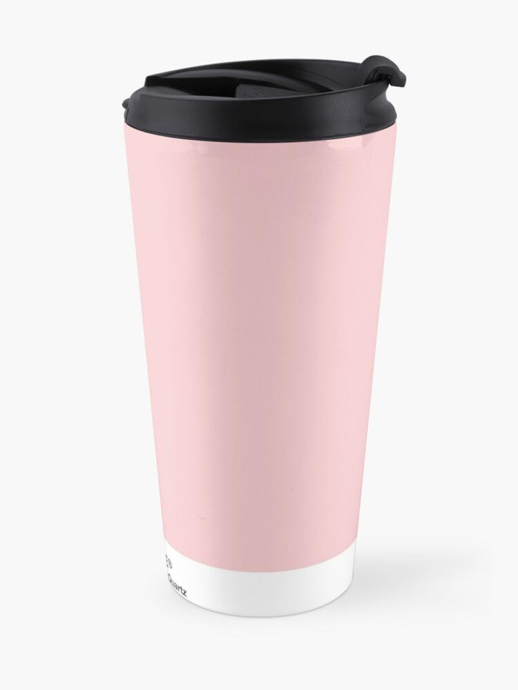 Alternative Ansicht von Pantone Serie und Tumblr Vibes - Rosenquarz AKA Millennial Pink Thermobecher