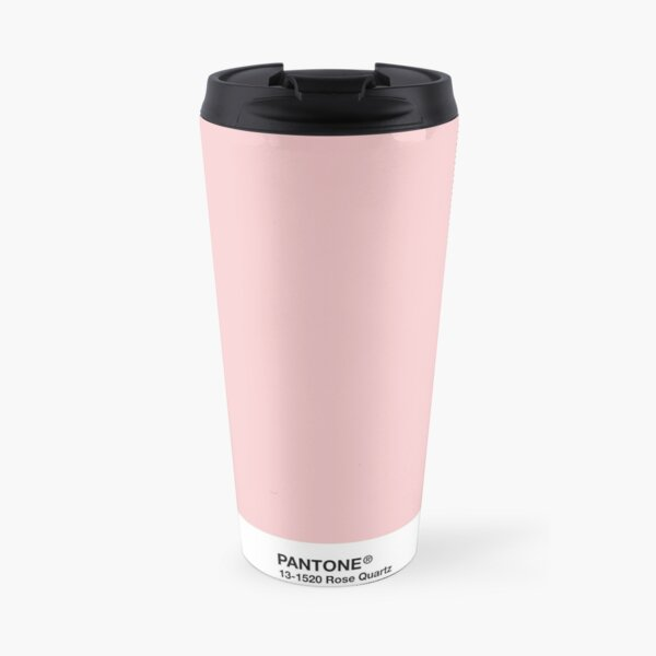 Pantone Series and Tumblr Vibes - Rose Quartz AKA Millennial Pink Travel Mug
