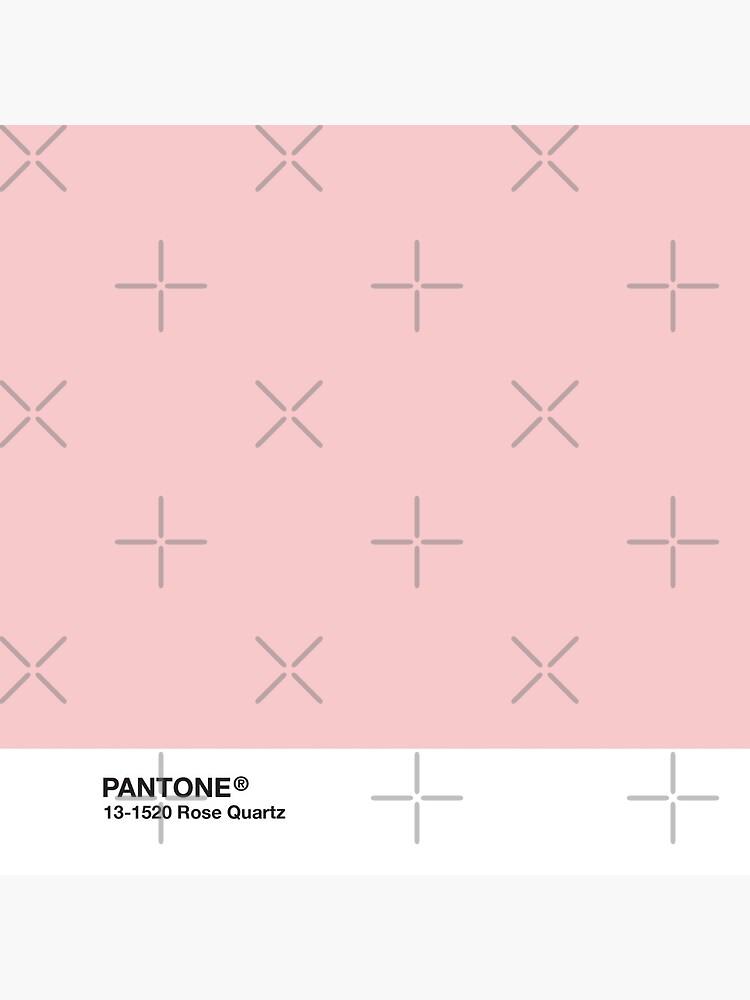 Pantone Serie und Tumblr Vibes - Rosenquarz AKA Millennial Pink von heathaze