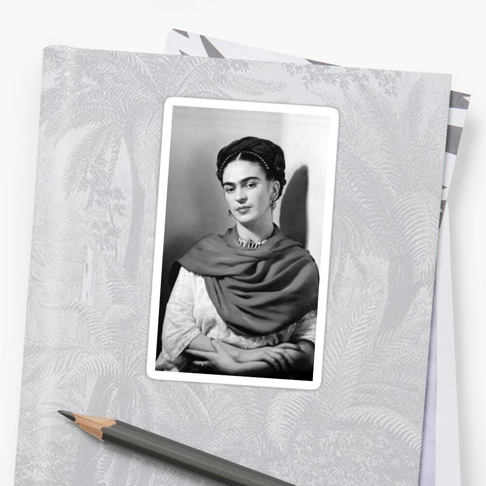 Black and White Frida Kahlo\