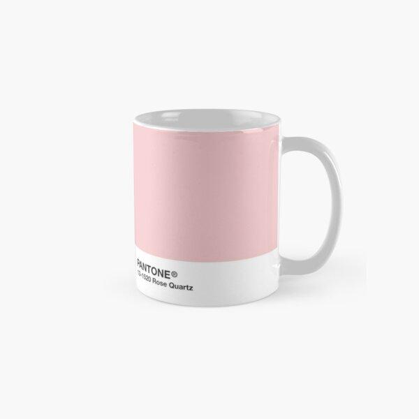 Pantone Series and Tumblr Vibes - Rose Quartz AKA Millennial Pink Classic Mug