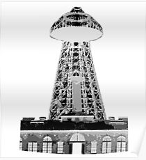 Wardenclyffe Tower Poster