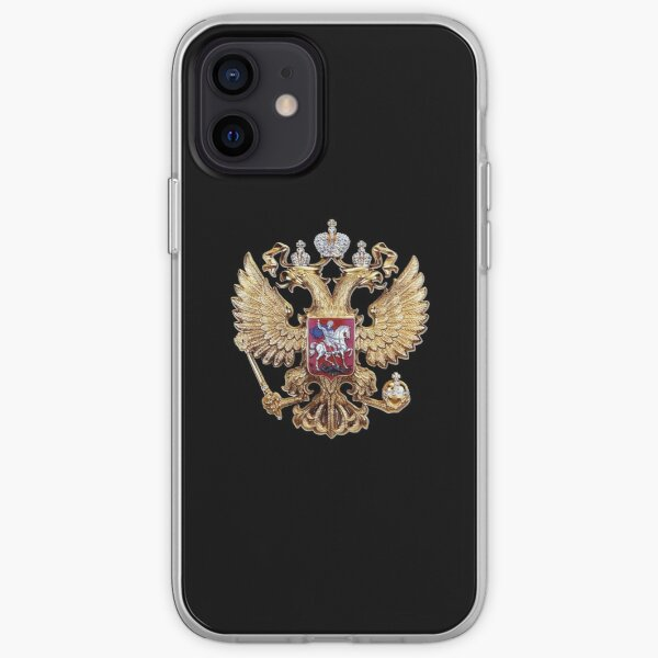 Russian Coat of Arms iPhone Soft Case