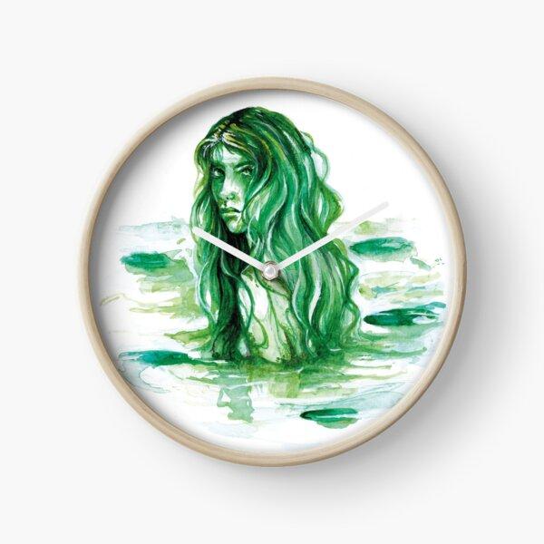 Frog Princess Sea Witch Clock