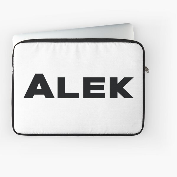 Name Alek / Inspired by The Color of Money Laptop Sleeve