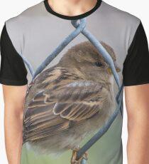 Mei Spatzl - Sparrow | Roosevelt Island, New York Graphic T-Shirt