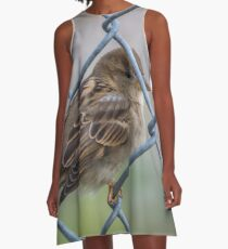Mei Spatzl - Sparrow | Roosevelt Island, New York A-Line Dress