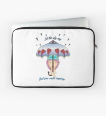 Let The Sky Cry Laptop Sleeve